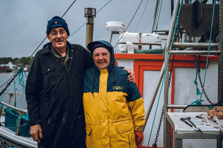 Locally sourced seafood caught by these great people.