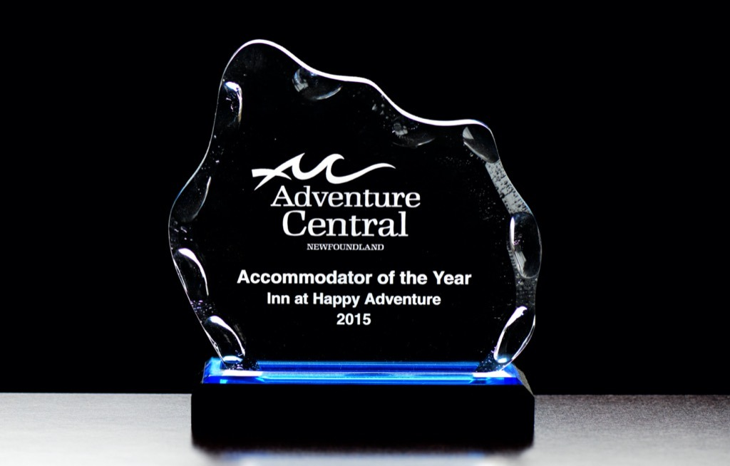 Happy Adventure Inn Adventure Central Award